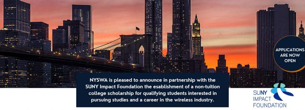 NYSWA Scholarship SUNY Impact Foundation